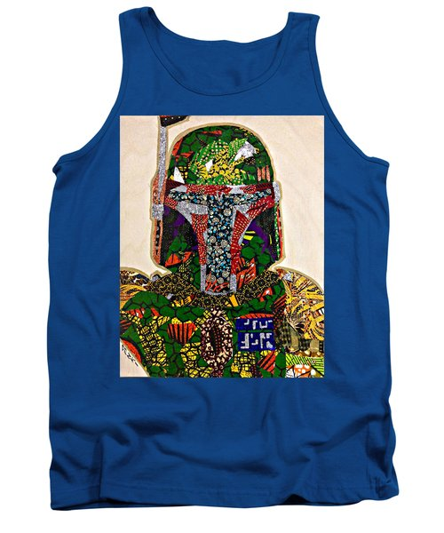 Boba Fett Star Wars Afrofuturist Collection Tank Top