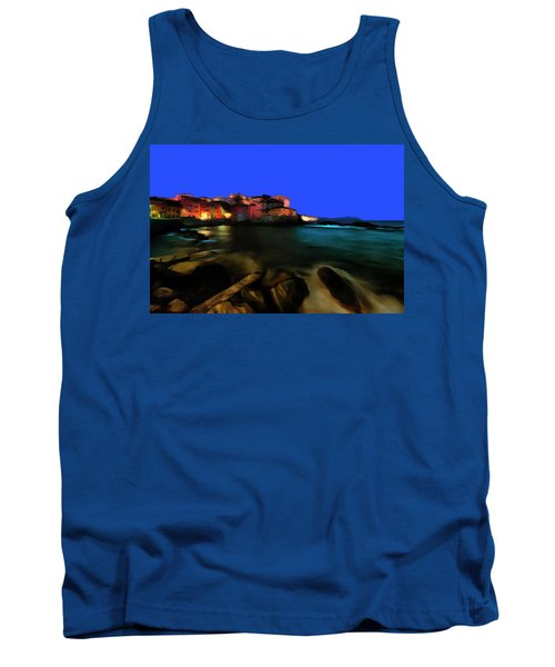 Boccadasse By Night Paint Tank Top