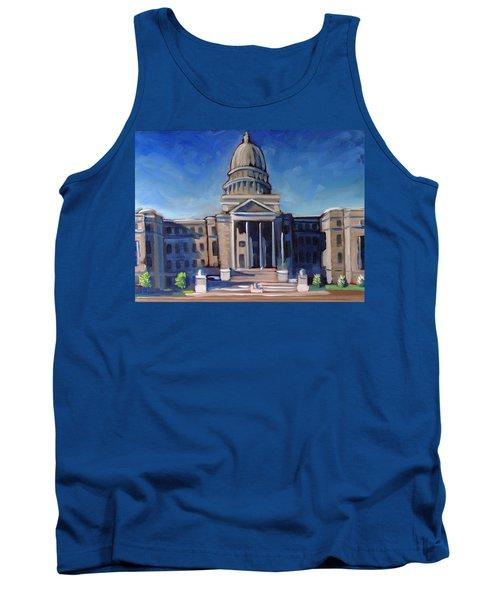 Boise Capitol Building 02 Tank Top