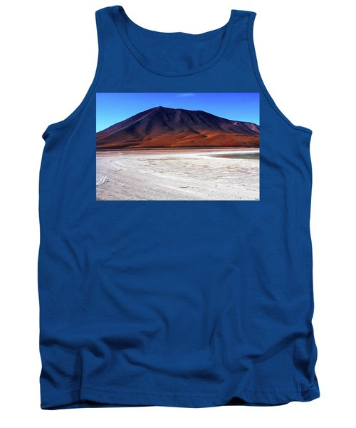 Tank Top featuring the photograph Bolivian Altiplano, South America by Aidan Moran