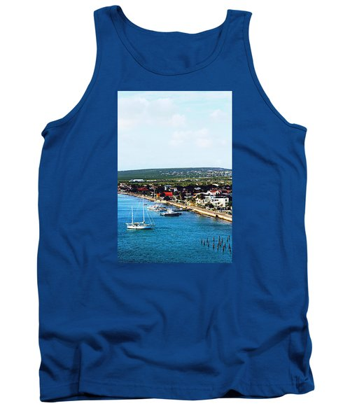 Bonaire Tank Top by Infinite Pixels