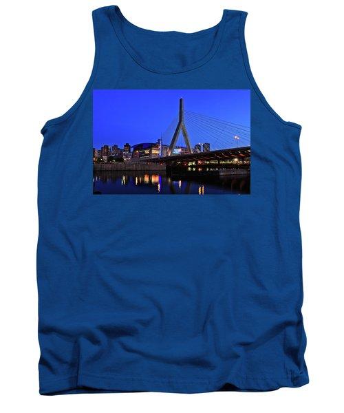 Boston Garden And Zakim Bridge Tank Top by Rick Berk