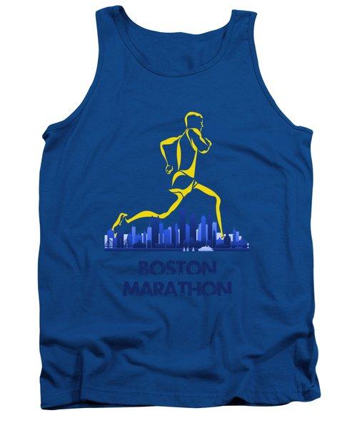 Boston Marathon5 Tank Top by Joe Hamilton