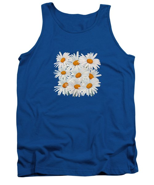Bouquet Of White Daisies Tank Top