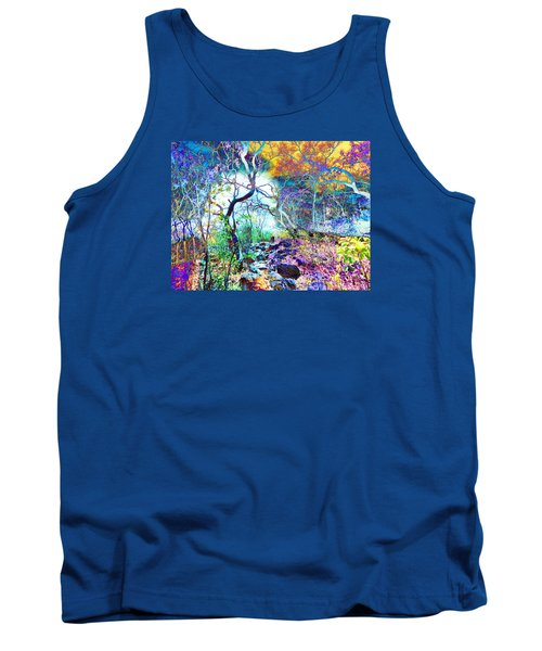 Tank Top featuring the photograph Brazilian Surreal Forest by Beto Machado