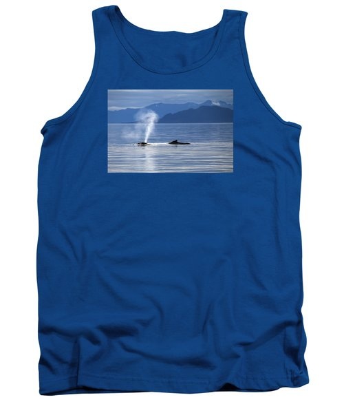 Breath Of A Whale Tank Top by Michele Cornelius