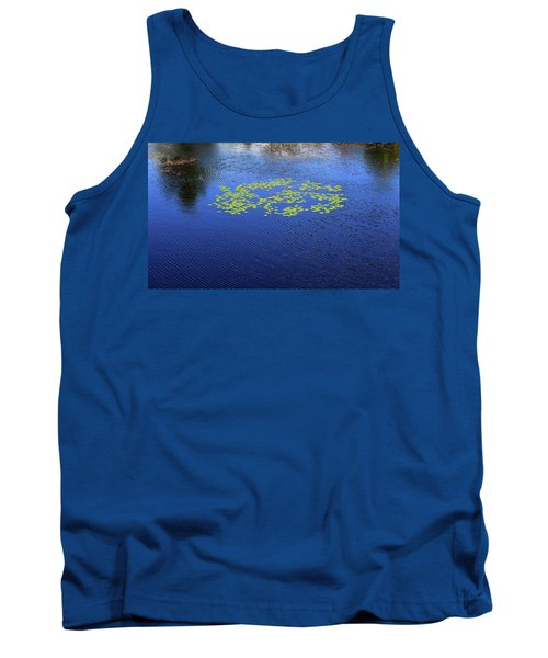 Breeze On The Water  Tank Top by Lyle Crump