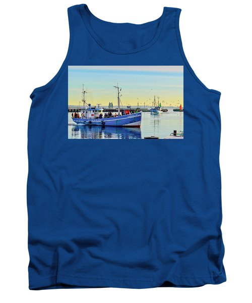 Bringing In The Day's Catch Tank Top