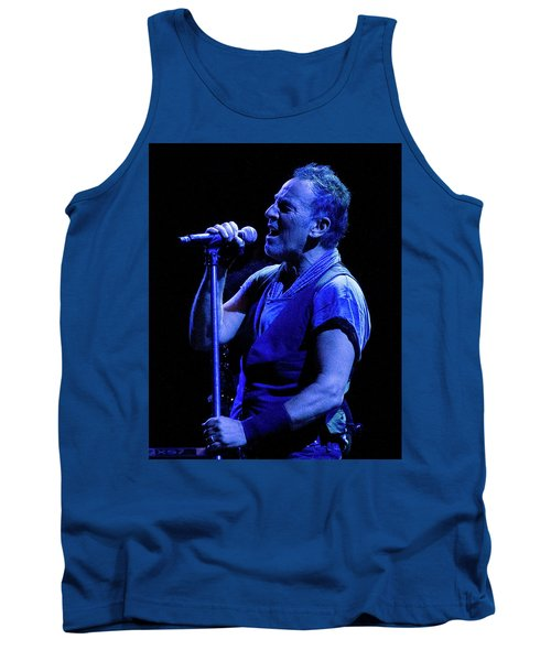 Bruce Springsteen-penn State 4-18-16 Tank Top by Jeff Ross