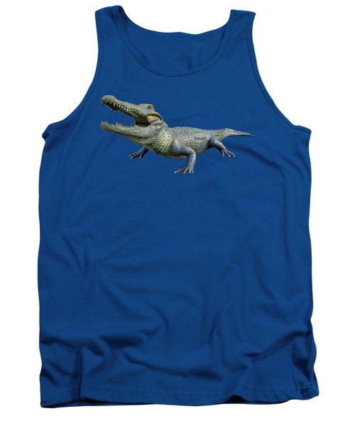 Bull Gator Transparent For T Shirts Tank Top