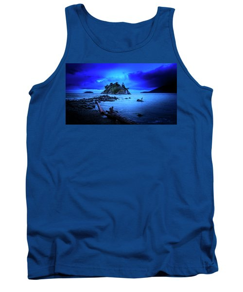 Tank Top featuring the photograph By The Light Of The Moon by John Poon