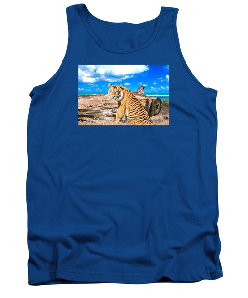 By The Sea Tank Top by Judy Kay