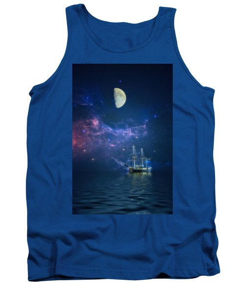 By Way Of The Moon And Stars Tank Top