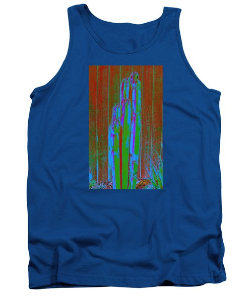 Tank Top featuring the photograph Cactus Stand by M Diane Bonaparte