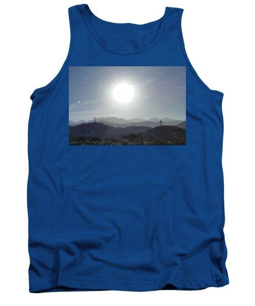 Cajon Pass Sunset Tank Top