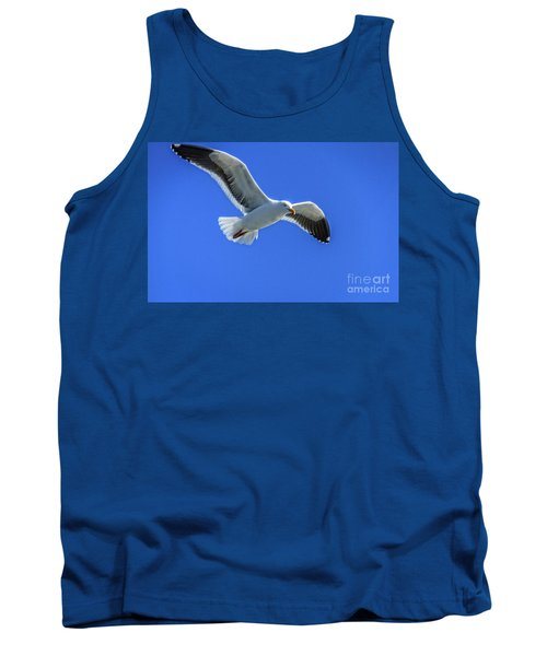 Tank Top featuring the photograph California Gull by Robert Bales
