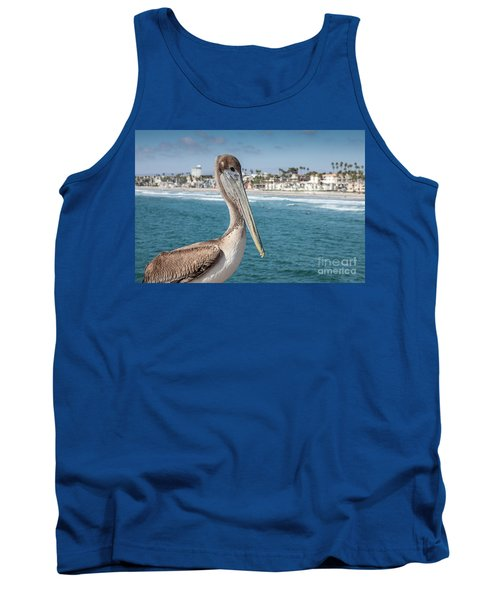 California Pelican Tank Top