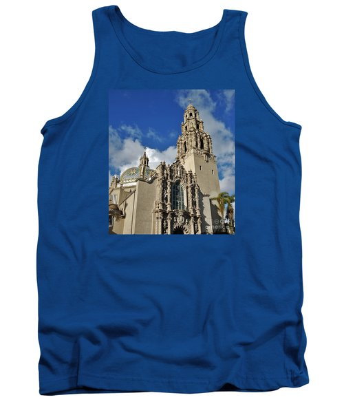 California Tower 2010 Tank Top by Jasna Gopic