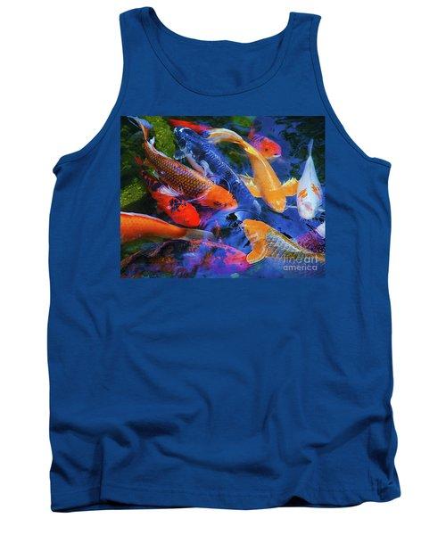 Calm Koi Fish Tank Top