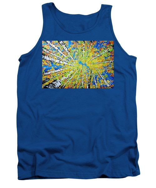 Calming Canopy Tank Top by Jackie Carpenter
