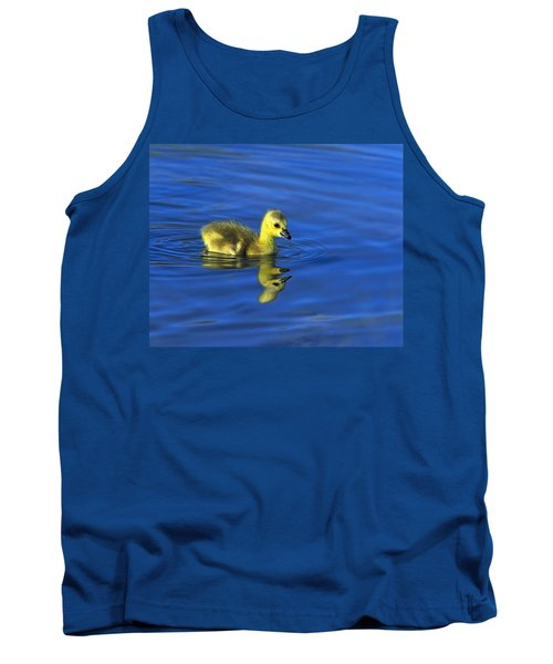 Canada Gosling Goes For A Swim Tank Top
