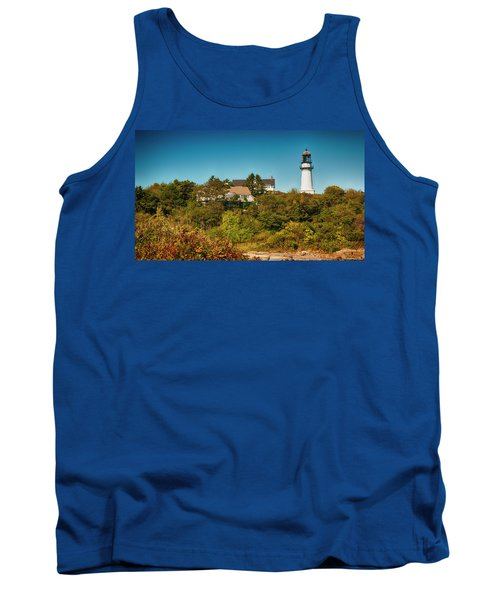 Cape Elizabeth Lighthouse Tank Top