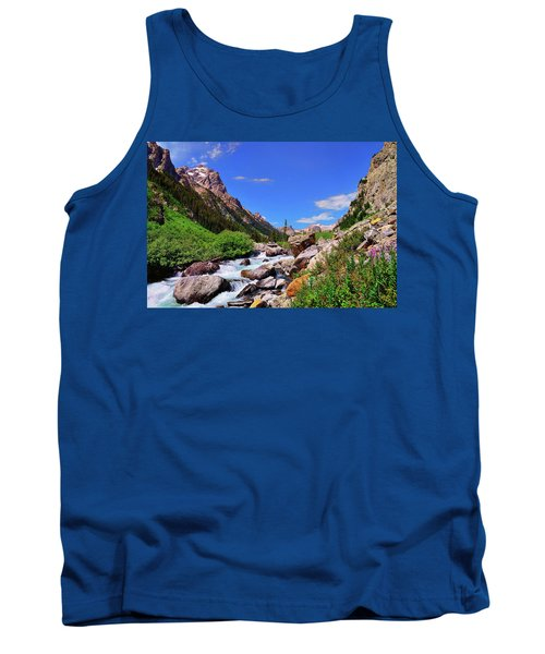 Cascade Canyon Tank Top by Greg Norrell