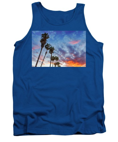 Tank Top featuring the photograph Casitas Palms by John A Rodriguez