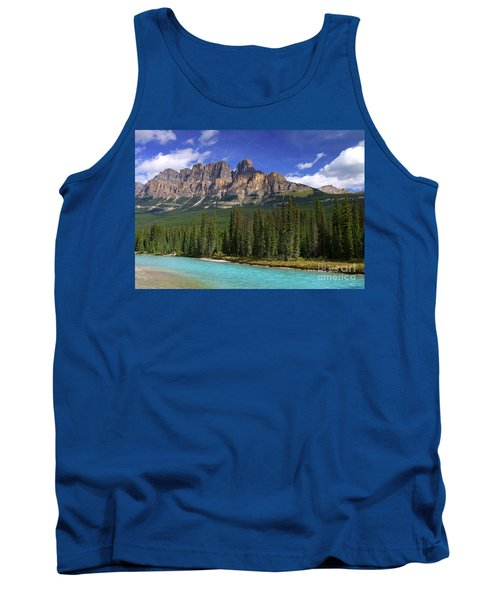 Castle Mountain Banff The Canadian Rockies Tank Top