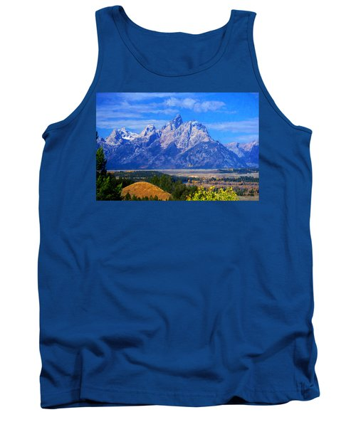 Cathedral Group Impressions Tank Top by Greg Norrell