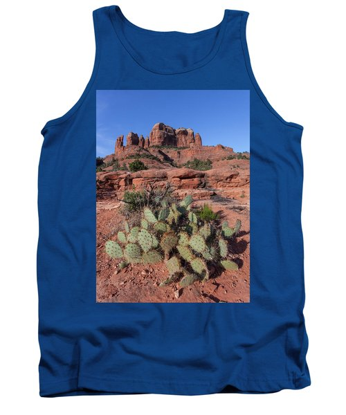 Cathedral Rock Cactus Grove Tank Top