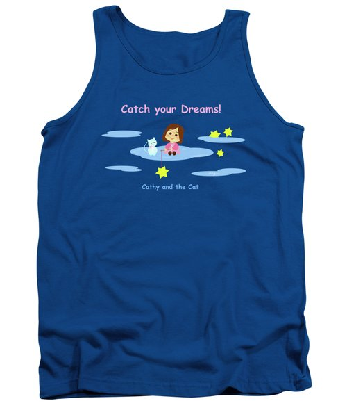 Cathy And The Cat Catch Your Dreams Tank Top