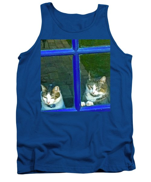 Cats On Baylor Street Tank Top