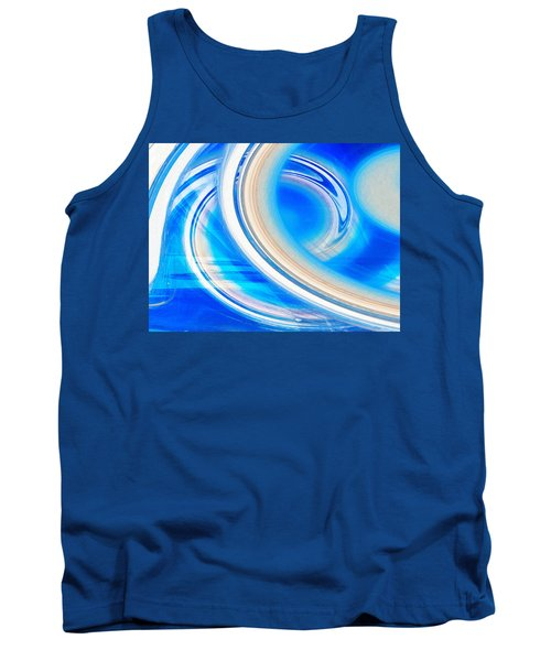 Tank Top featuring the photograph Celestial Rings by Shawna Rowe