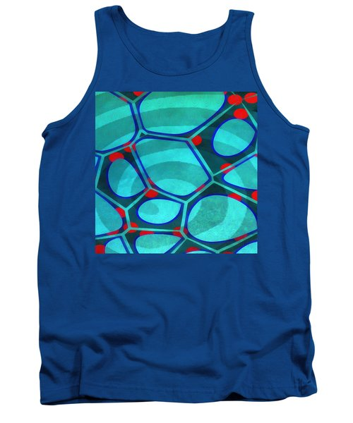 Cell Abstract 6a Tank Top