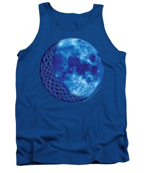 Celtic Blue Moon Tank Top