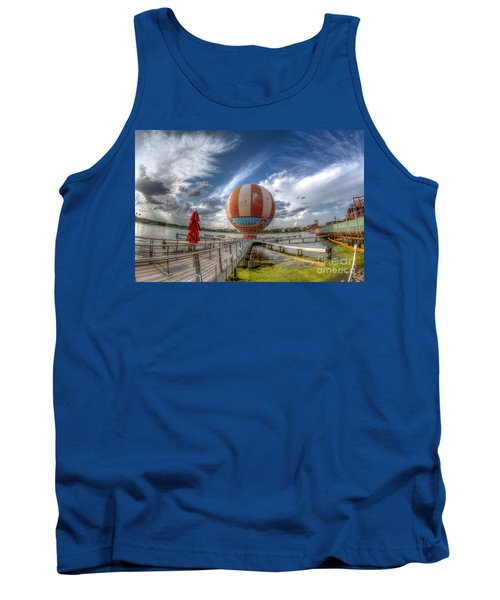 Characters In Flight Tank Top