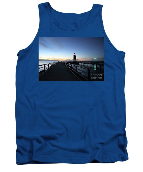 Charlevoix Light Tower Tank Top