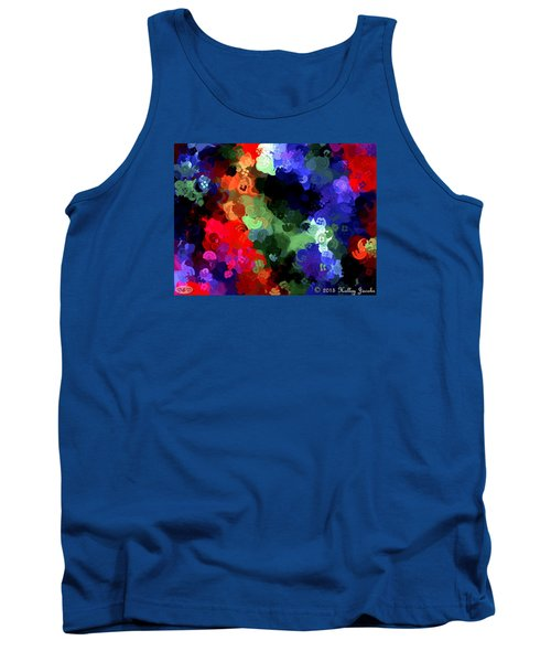 Tank Top featuring the painting Chasing Sleep by Holley Jacobs