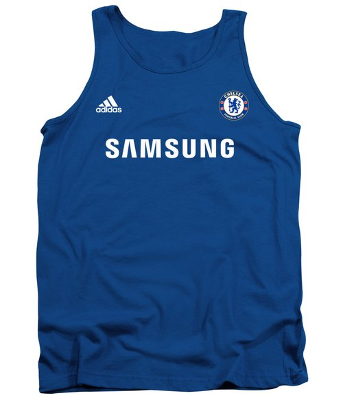 Chelsea Fc,the Blues Tank Top