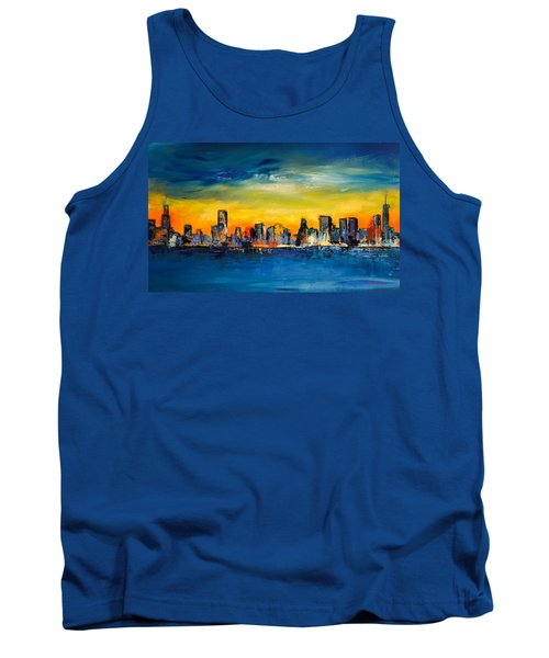 Chicago Skyline Tank Top