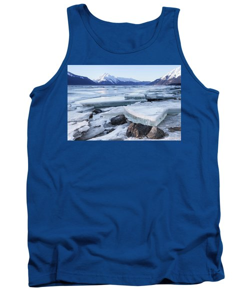 Chilkat River Ice Chunks Tank Top