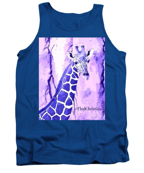 Christina's Giraffe Tank Top