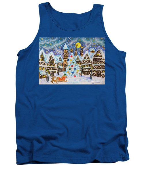 Christmas In Europe Tank Top