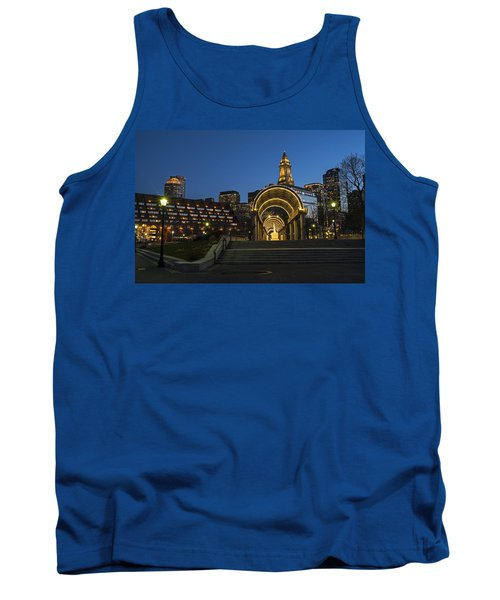 Christopher Columbus Park Boston Ma Trellis Custom House Tank Top