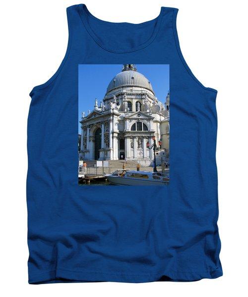 Church In Venice Tank Top by Lisa Boyd