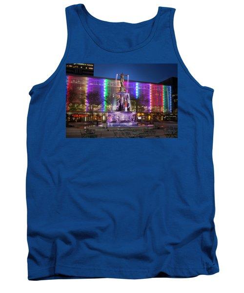 Cincinnati Fountain Square Tank Top by Scott Meyer