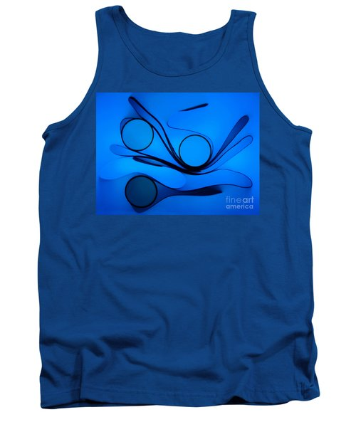 Circles And Shadows Tank Top