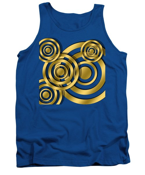 Circles - Chuck Staley Design Tank Top by Chuck Staley
