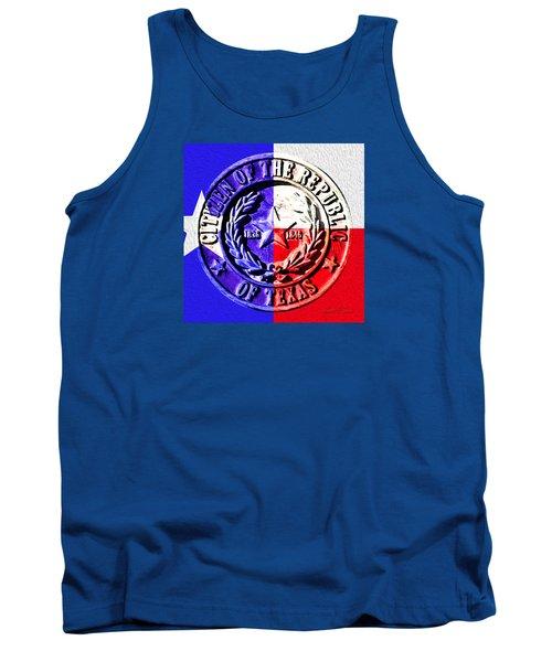 Citizen Of The Republic Of Texas Tank Top